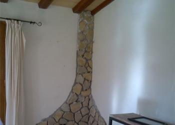 Abdeckung von Rissen mit Naturstein - Nachher