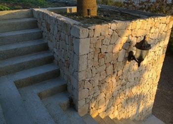 Naturstein Treppe - Nachher