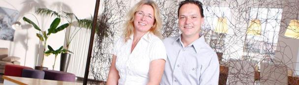 Katja Lukowicz und Sven Reitzenstein